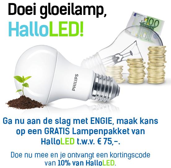 Engie vervangt gratis uw lampen